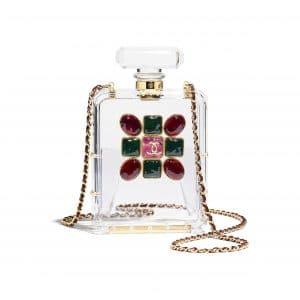 Chanel Transparent Resin and Enamel Evening Bag