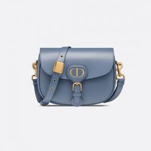 Dior Denim Blue Medium Bobby Bag
