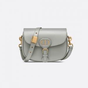 Dior Gray Medium Bobby Bag