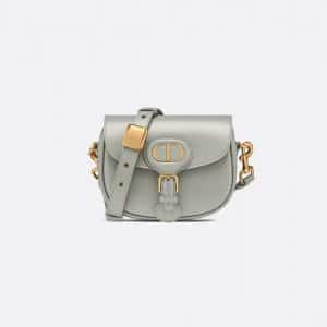 Dior Gray Small Bobby Bag