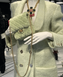 Chanel Light Green Reissue Flap Bag 3