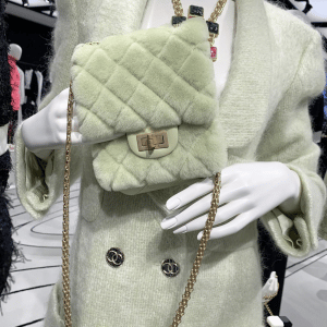 Chanel Light Green Reissue Flap Bag 2