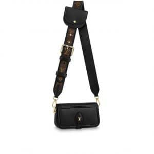 Louis Vuitton Black Officier Pouch Bag