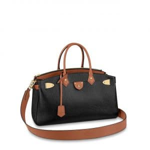 Louis Vuitton Black:Brown All Set Top Handle Bag