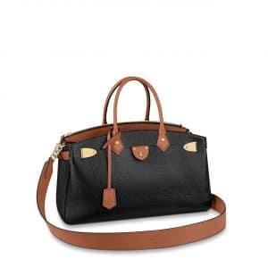 Louis Vuitton Black:Brown All Set Top Handle Bag