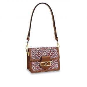 Louis Vuitton Bordeaux Since 1854 Dauphine Mini Bag