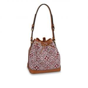 Louis Vuitton Bordeaux Since 1854 Petit Noe Bag