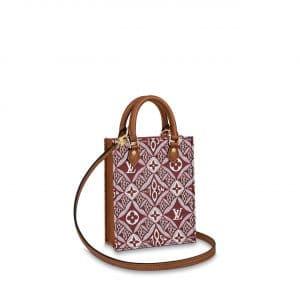 Louis Vuitton Bordeaux Since 1854 Petit Sac Plat Bag