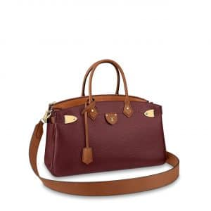Louis Vuitton Bordeaux:Tan All Set Top Handle Bag