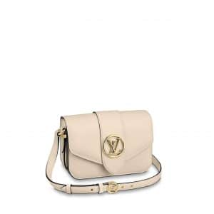 Louis Vuitton Cream LV Pont 9 Bag