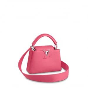 Louis Vuitton Dragon Fruit Capucines Mini Bag