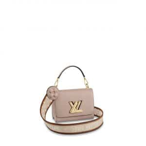 Louis Vuitton Galet Twist PM Bag with Monogram Flower Strap