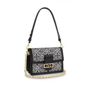 Louis Vuitton Gray Since 1854 Dauphine MM Bag
