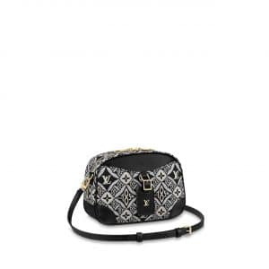 Louis Vuitton Gray Since 1854 Deauville Mini Bag