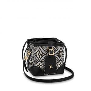 Louis Vuitton Gray Since 1854 Petit Noé Purse Bag