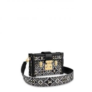 Louis Vuitton Gray Since 1854 Petite Malle Bag