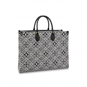 Louis Vuitton Grey Since 1854 Onthego GM Bag
