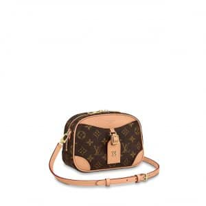 Louis Vuitton Monogram Canvas Deauville Mini Bag