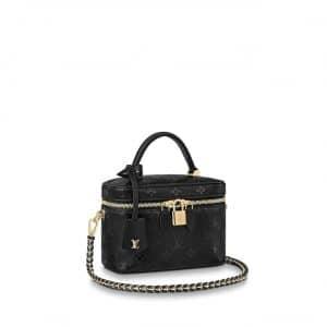 Louis Vuitton Monogram Ink Monogram Empreinte Vanity PM Bag