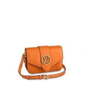 Louis Vuitton Summer Gold LV Pont 9 Bag