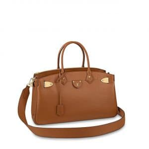 Louis Vuitton Tan All Set Top Handle Bag