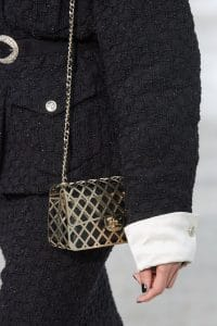 Chanel Gold Lattice Flap Bag - Spring 2021
