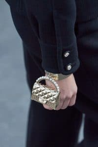 Chanel Gold Micro Mini Bag Bracelet Charm - Spring 2021