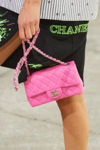Chanel Pink Classic Flap Bag - Spring 2021
