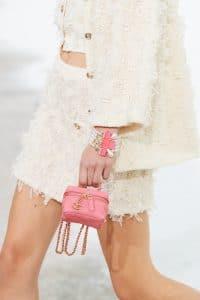 Chanel Pink Micro Vanity Bag - Spring 2021