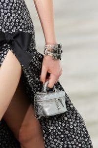Chanel Silver Micro Vanity Bag - Spring 2021