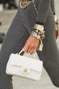 Chanel White Top Handle Bag - Spring 2021