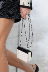 Chanel White:Black Flap Bag 2 - Spring 2021