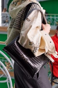 Louis Vuitton Black Crocodile Shoulder Bag - Spring 2021