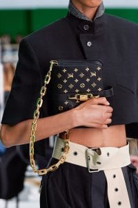 Louis Vuitton Black Embellished Shoulder Bag - Spring 2021