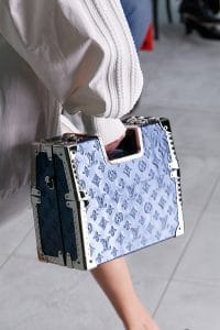 Louis Vuitton Blue Top Handle Bag - Spring 2021