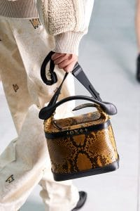 Louis Vuitton Brown Python Hobo Bag - Spring 2021