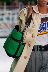 Louis Vuitton Green Bucket Bag 2 - Spring 2021