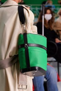 Louis Vuitton Green Bucket Bag - Spring 2021
