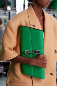 Louis Vuitton Green Epi Clutch Bag - Spring 2021