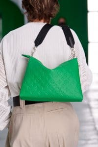 Louis Vuitton Green Monogram Empreinte Shoulder Bag - Spring 2021