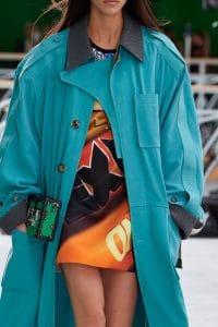 Louis Vuitton Green Petite Malle Bag 2 - Spring 2021