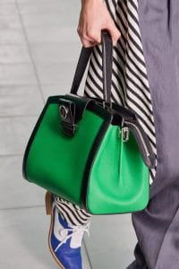 Louis Vuitton Green Top Handle Bag - Spring 2021