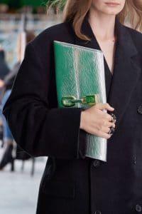 Louis Vuitton Silver Epi Clutch Bag - Spring 2021