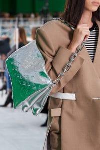 Louis Vuitton Silver Shoulder Bag - Spring 2021