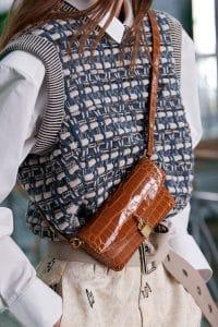Louis Vuitton Tan Crocodile Crossbody Bag - Spring 2021
