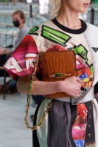 Louis Vuitton Tan Crocodile Shoulder Bag - Spring 2021
