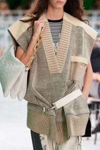 Louis Vuitton White Monogram Empreinte Shoulder Bag 2 - Spring 2021