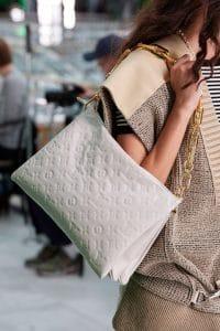 Louis Vuitton White Monogram Empreinte Shoulder Bag - Spring 2021