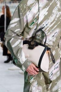 Louis Vuitton White:Black Top Handle Bag - Spring 2021