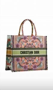 Dior In Lights Embroidered Pink Tote - Cruise 2021
